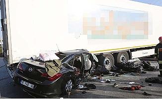 Bir aile kaza kurbanı oldu