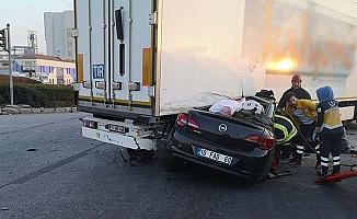 Çorum'da feci kaza, 3 ölü, 1 yaralı