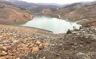 Dereboğazı Barajı doluyor