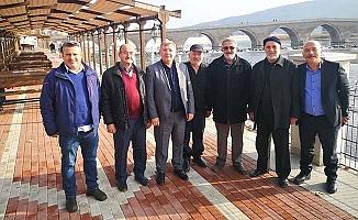 Osmancık sahilinde yeni proje