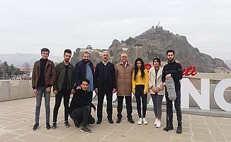 Osmancık'ta tanıtım filmi çektiler