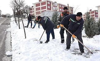Belediye, 'Karla mücadelede başarılıyız'