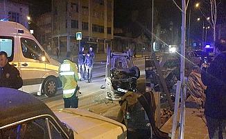 Cengiz Topel Caddesi'nde kaza