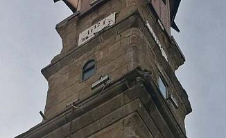 Deprem Saat Kulesi'ne zarar verdi
