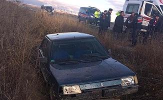 Otomobil şarampole uçtu, 5 yaralı