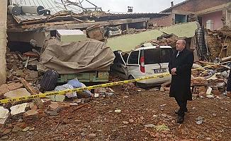 Şahiner deprem bölgesinde