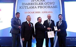 Yılın Kaymakamı ödülü Boğazkale'ye