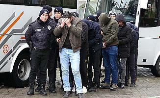 23 zanlıdan 11'i tutuklandı