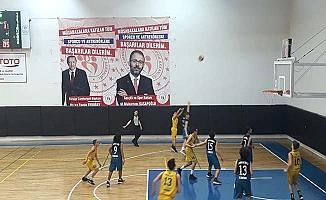 Amasya'da basketbol şöleni