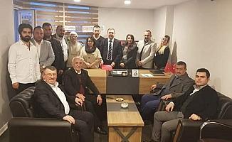 CHP Merkez İlçe'de görev dağılımı