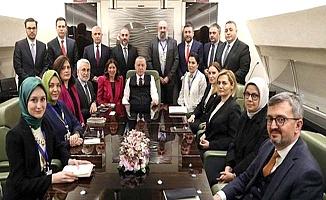 Erdoğan Çorumlu aile ile görüştü