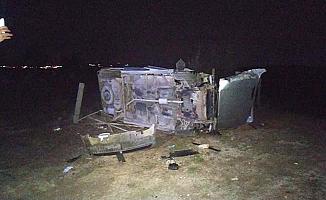 Eskiekin yolunda kaza, 3 yaralı