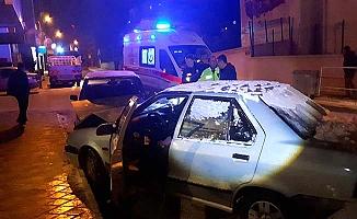 İskilip'te zincirleme kaza, 4 yaralı