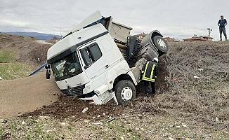 Osmancık yolunda kaza