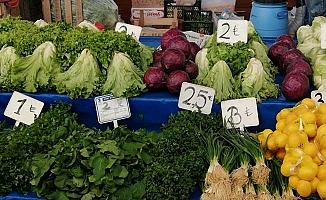 Alaca sebze pazarı kapatıldı