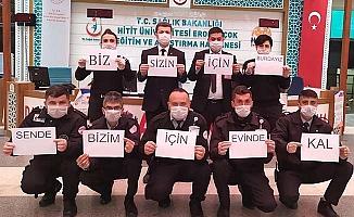 Hastanelerden mesaj var