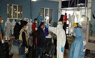 313 işçi Çorum'da karantinaya alındı