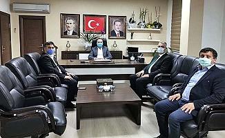 Berber ve kuaförlerin sorun ve talepleri AK Parti'de
