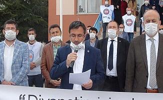 Çorum'dan Erbaş'a destek