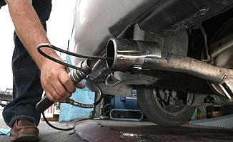 Egzoz gazı ölçümlerine uzatma
