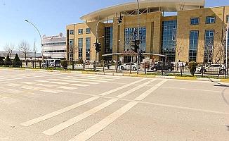 Hastane çevresinde trafik düzenlemesi