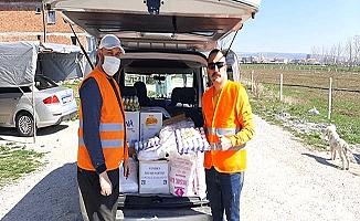 Koronavirüs mağdurlarına yardım