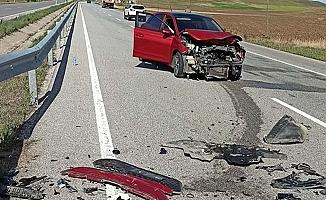 Ankara yolunda kaza, 3 yaralı