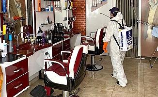 Berberler açılmadan dezenfekte edilecek