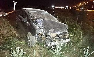 Polis memuru kazada yaralandı
