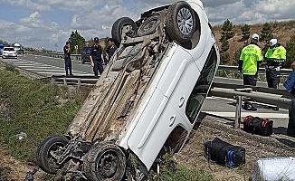 Kırıkkale-Çorum yolunda 2 kaza, 11 yaralı