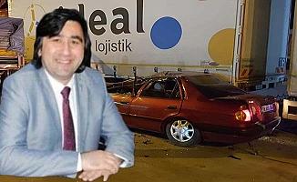 Korkutan kaza... CHP eski İl Başkanı ölümden döndü