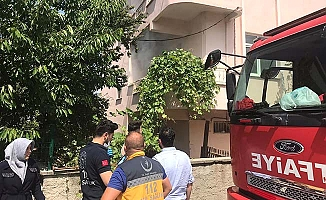 Osmancık'ta yangın