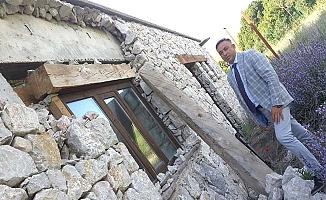 Tarihi kentte kaderine terk edilen proje