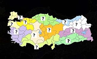 Bakanlık koronavirüs haritasını paylaştı