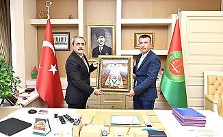 Balcı'dan yüksek yargı ziyareti