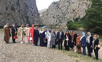 Belediye başkanlarının eşleri Ortaköy'de