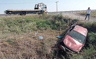 Bir kaza haberi de Sungurlu'dan