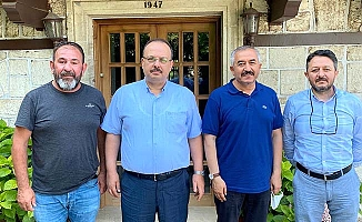 Bursa'ya hemşehri ziyareti