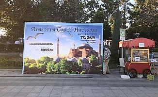 Çorum TÜGVA'dan Ayasofya Camii Hatırası