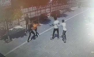 Gençler pompalı tüfekle kavga etti