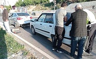 Hitit Kavşağı'nda kaza