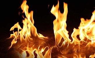 İki ayrı köyde yangın korkuttu