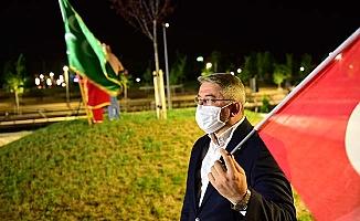 Millet Bahçesi'nde Ayasofya kutlaması