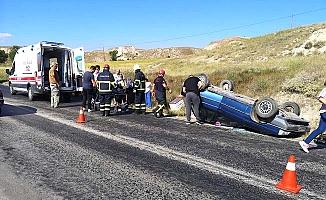 Sarmaşa'da kaza