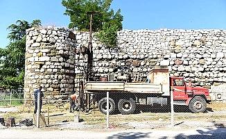 Kale surlarında restorasyon