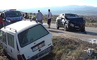 Kırıkkale-Çorum yolunda kaza