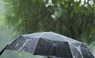 Orta Karadeniz'de yağış