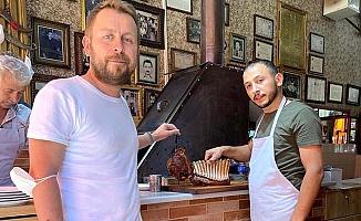 Ünlü gurme Kebabcızade'de