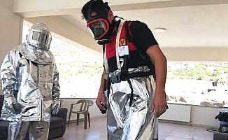 Yanmaz kıyafetlerle daha güvenli müdahale