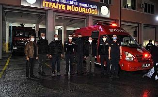 Çorum'dan İzmir'e destek